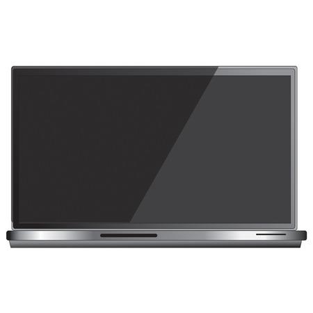 Generic laptop vector clip art