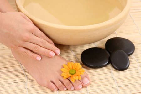 beautiful legs and hands - beauty treatment