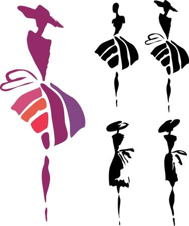 Foto de women silhouette - Imagen libre de derechos