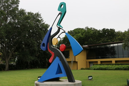 Sculpture Art at the Mennello Museum of American Art