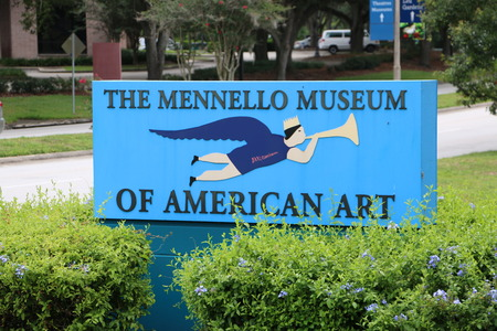 The entrance to the Mennello Museum of American Art