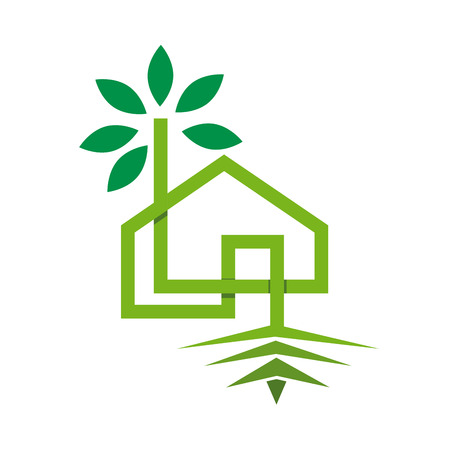 Vector sign ecohouse