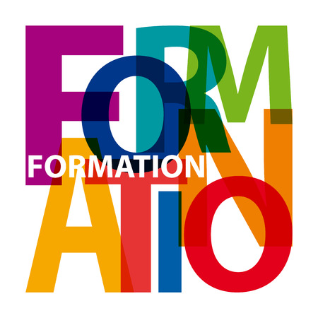 Vector formation. Broken text