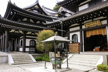 KAMAKURA, JAPAN - APRIL 05, 2019: Hasedera temple, the famous temple in the city of Kamakura, Japan