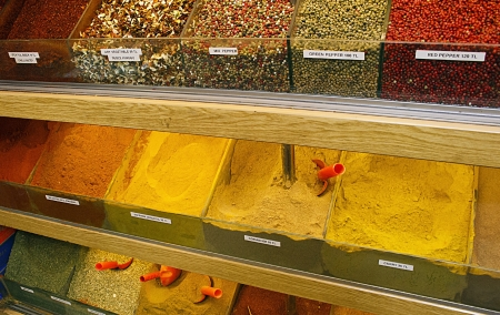 Spices at Istanbul Bazaar