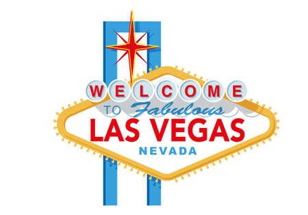 Illustration pour Las Vegas sign - image libre de droit