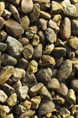 closeup of gravel pathway