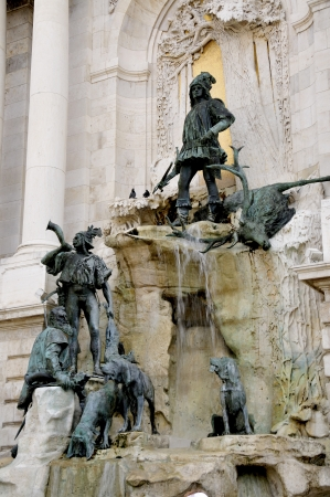 In 1904 the fountain of Matthias built and tells the story of King Matthias Corvinus and the girl Ilona    His motive has Alajos Str&oacute,bl represented the youthful king on the hunt