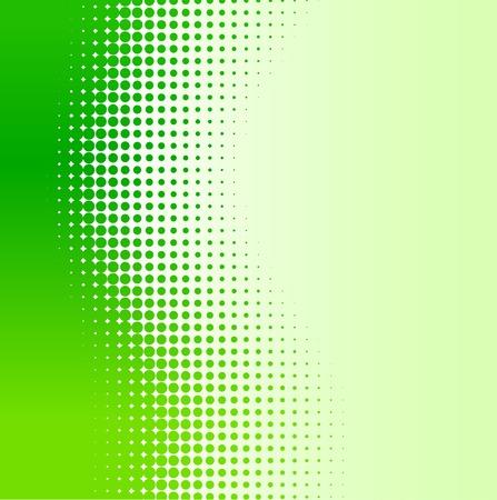 Green half-tone background. Vector illustration.