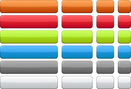 Blank rectangular color buttons