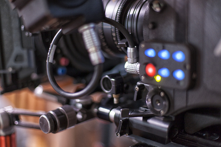 Camera for shooting feature films and television series