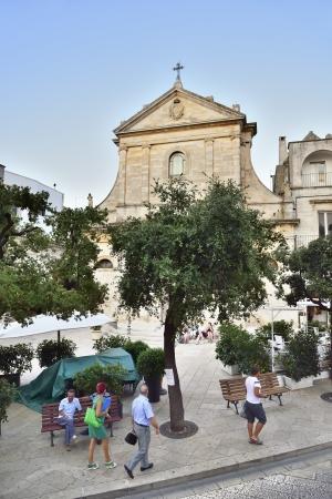 Foto per Locorotondo BA - view of the central square - Immagine Royalty Free