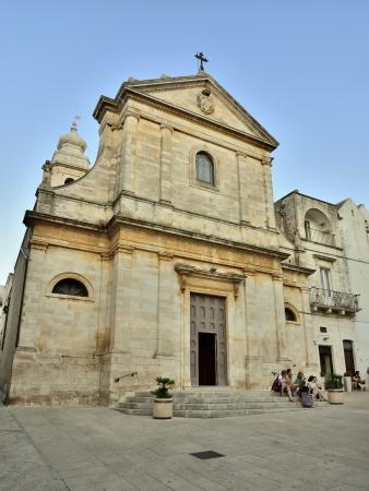 Foto per Locorotondo BA - the Basilica - Immagine Royalty Free