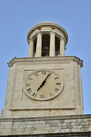 Foto per Locorotondo BA - the bell tower of the Basilica - Immagine Royalty Free