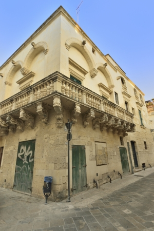 Lecce - a glimpse of the old town