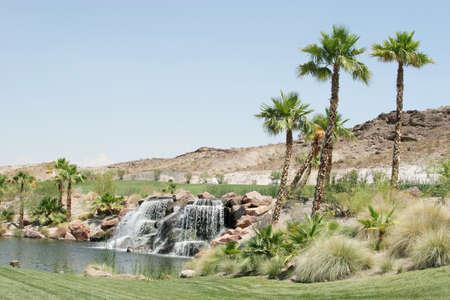 Upscale golf course