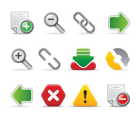 web page icons