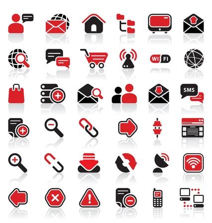 36 communication icons