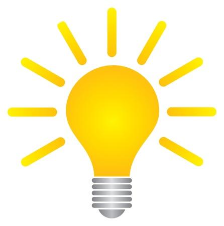 Illustration for bulb - Royalty Free Image