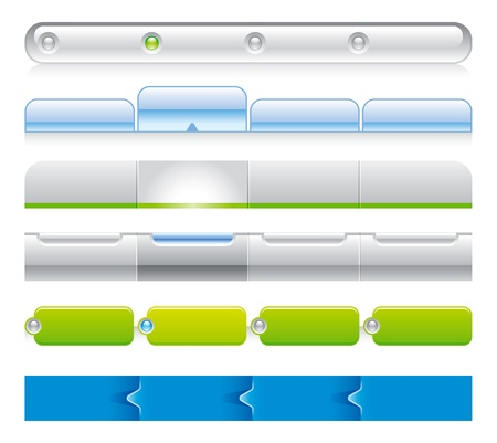 web navigation templates 03