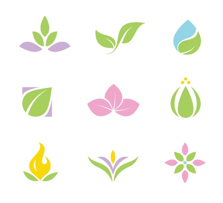 Illustration for Spa set of  icons  - Royalty Free Image