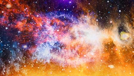 Photo for Beautiful nebula, stars and galaxies. - Royalty Free Image