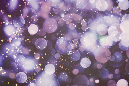 Photo for Blurred bokeh light background, Christmas and New Year holidays background - Royalty Free Image