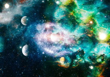 Foto für Star field and nebula in deep space many light years far from planet Earth. - Lizenzfreies Bild