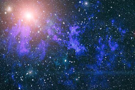 Foto de Abstraction space background for design. Mystical light - Imagen libre de derechos