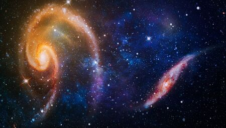 Photo for Bursting Galaxy , Universe filled with stars, nebula and galaxy - Royalty Free Image