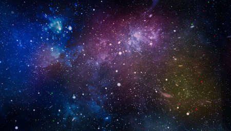 Photo for The nebula in outer space. Secrets of deep space. - Royalty Free Image
