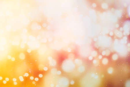 Photo pour Disco lights. Elegant abstract background with bokeh lights and stars - image libre de droit