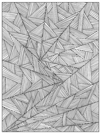 Optical Illusion 20 coloring page | Free Printable Coloring Pages | 450x337