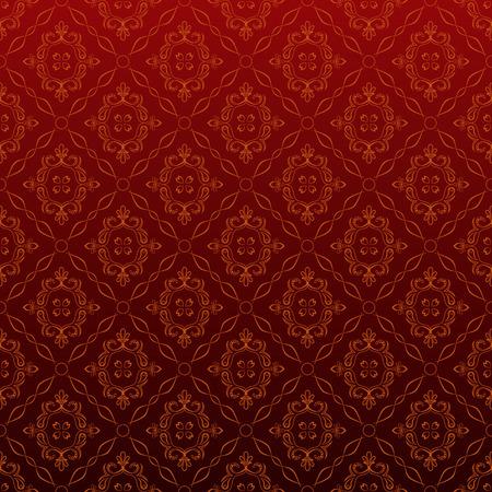 Seamless Red Wallpaper