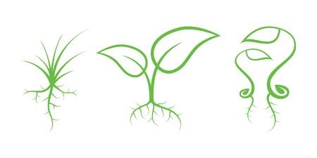 Illustration pour Nature Icons - image libre de droit