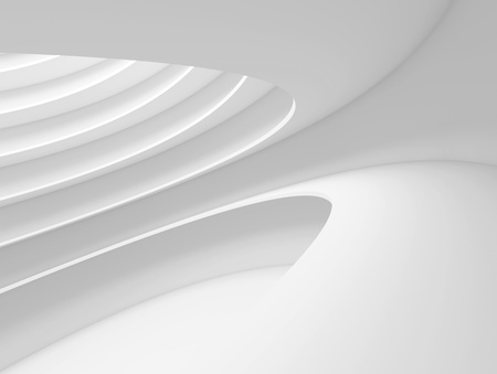 White Futuristic Architecture