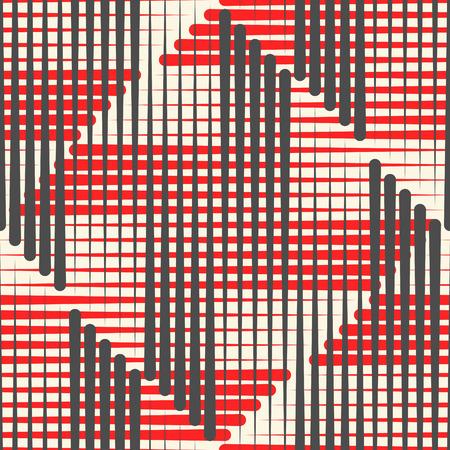 Illustration pour Modern Plaid Background. Fabric Fashion Pattern. Traditional Wrapping Paper Ornament - image libre de droit