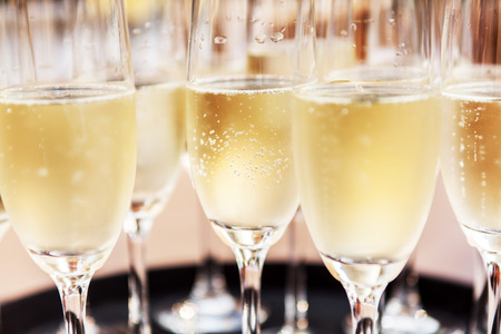 Photo for champagne glasses - Royalty Free Image