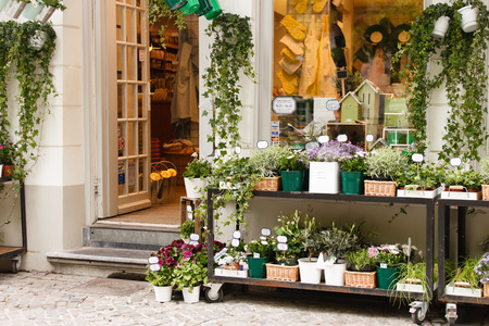 flower shop outdoor