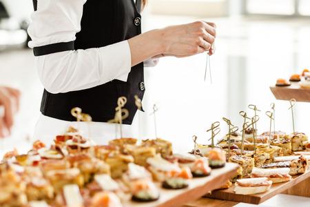 Photo pour catering food - image libre de droit