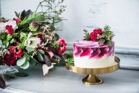 Photo for wedding cake - Royalty Free Image
