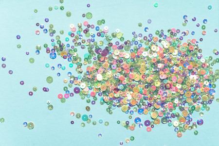 colorful glitter confetti