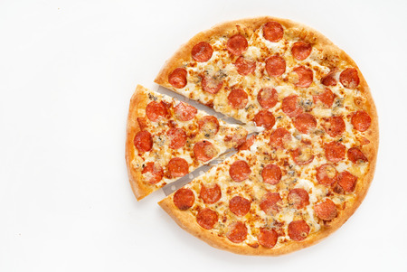 tasty pizza on the table