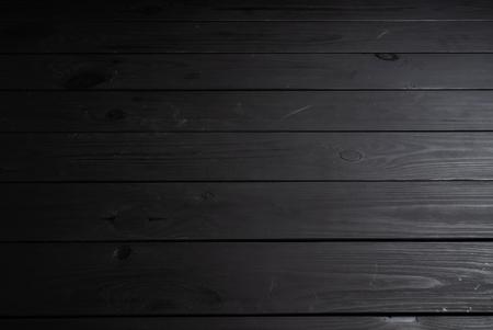 Foto de black wooden background,  natural texture - Imagen libre de derechos