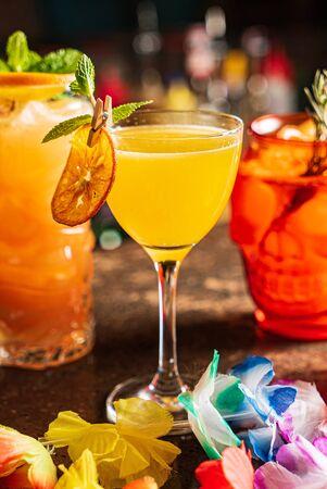 Photo pour mexican cocktail in the bar - image libre de droit