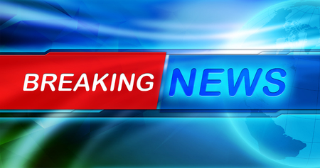 Photo for Breaking news header banner - Royalty Free Image
