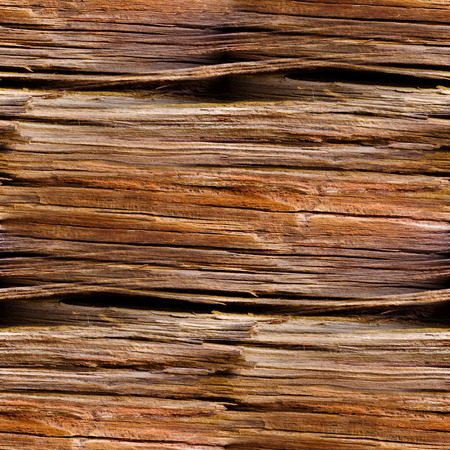 seamless texture of old wood with cracks