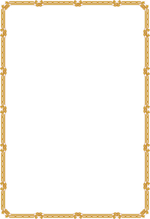 Classic border frame, thin blocks