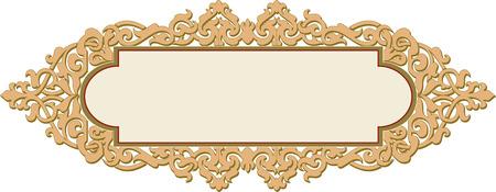 Illustration pour Decorative design element, vector file - image libre de droit