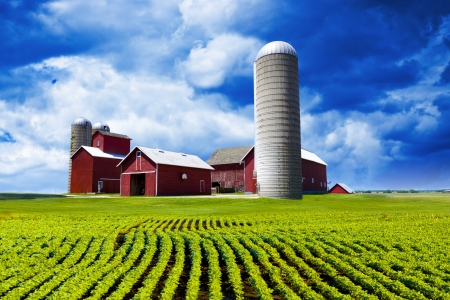 Photo pour American Farm - image libre de droit